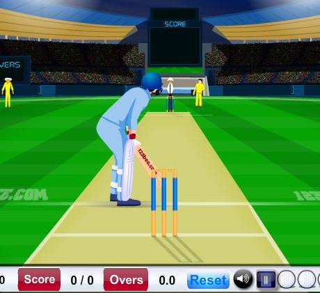 free online cricket super over game