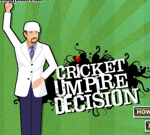 free online cricket umpire decision game