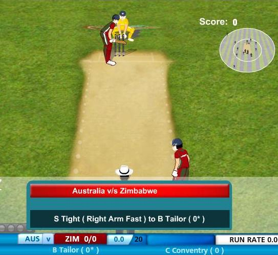 free online cricket world cup game