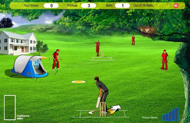 free online game  cricket