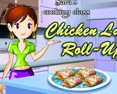 game for girls 2013 new sara cooking chicken lasagna roll ups recipe online