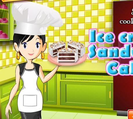 game for girls 2013 new sara cooking ice cream sandwich cake recipe online