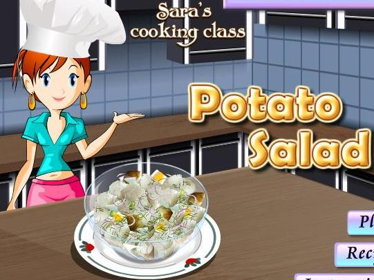 game for girls 2013 new sara cooking potato salad recipe online