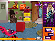 game girls hannah montana rockstar challenge dress up online