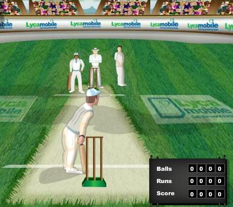 hit for six cricket game online free to play