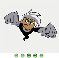 how to draw danny phantom a drawing game online
