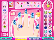 nail art diy fun game for girls