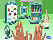nail fashion game for girls