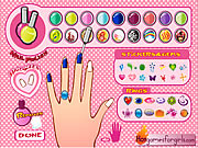 nail salon game for girls