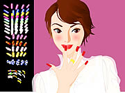 nail studio game for girls