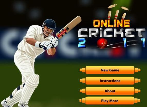 free online cricket 2011 game