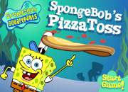 Cooking pizza toss spongebob squarepants game