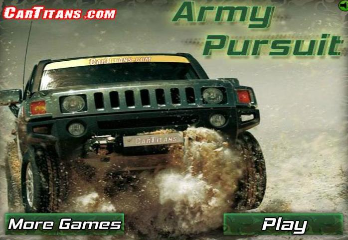army pursuit game