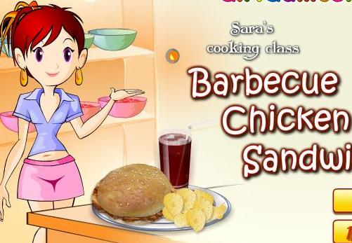 cooking barbecue chicken sandwich recipe online