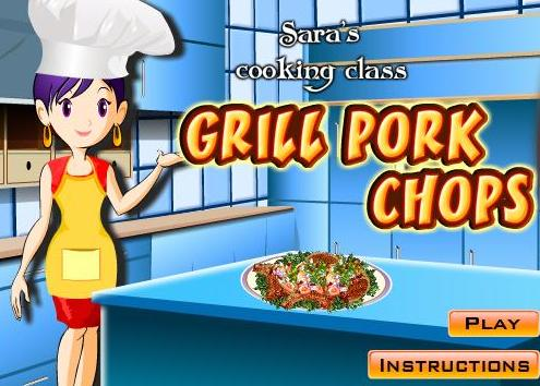 cooking grill pork chops recipe online