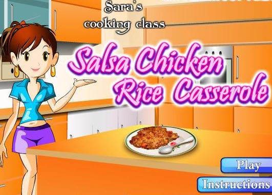 cooking salsa chicken rice casserole recipe online