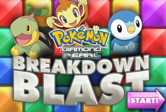 pokemon diamond and pearl breakdown blast game