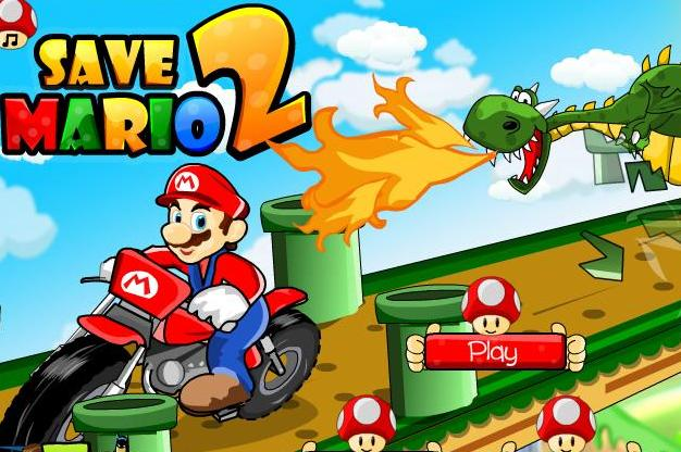 save super mario 2 game