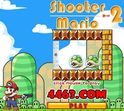 super mario shooter 2 game