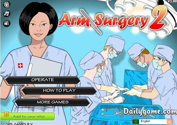 the game arm surgery 2