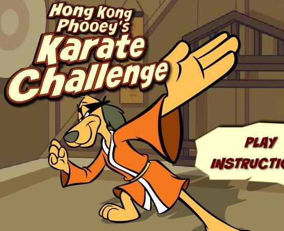 play the game hong kong phooey karate challenge free online
