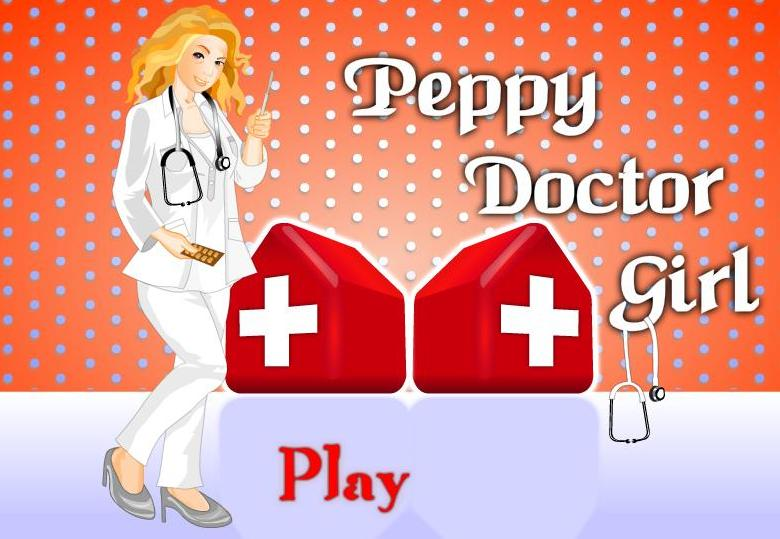 the game peppy doctor girl dress up