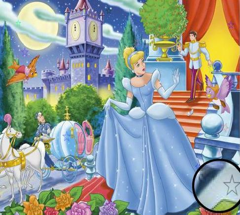 The Game Princess Cinderella Hidden Stars Free Online 2013 Play