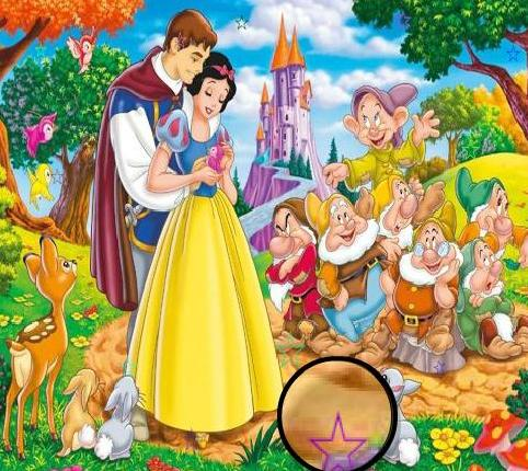 the game princess snow white hidden stars free online 2013