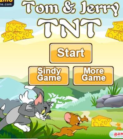 Tom dan jerry tnt game online
