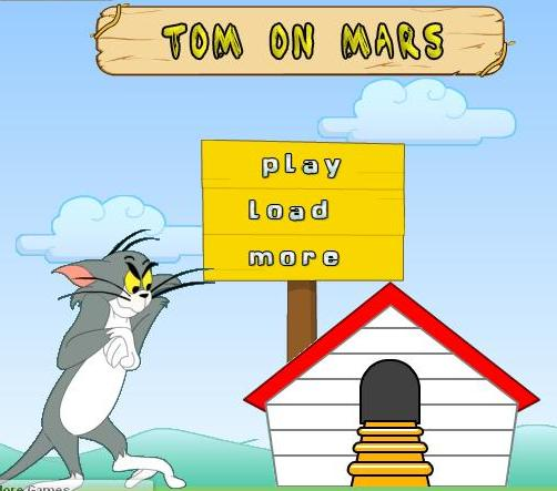 tom and jerry on mars game online