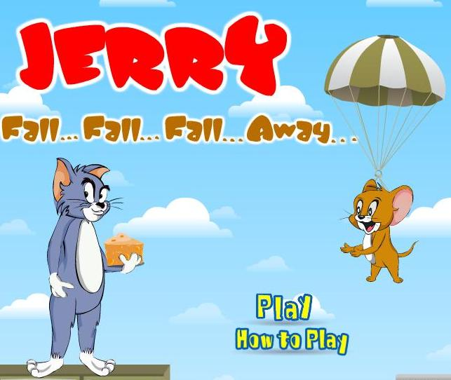tom jerry fall fall fall away game free