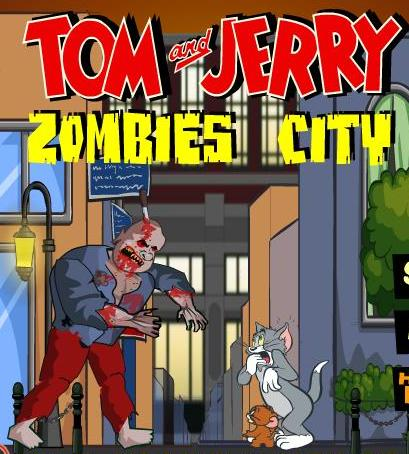 tom and jerry zombies city game free