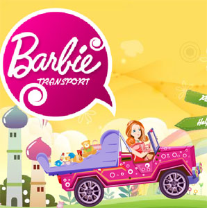 barbie transport game flash free online play games