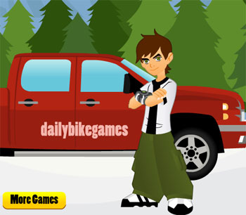 ben 10 truck ride game flash free online