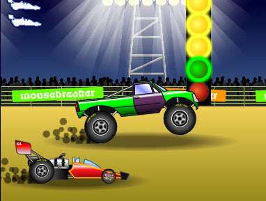 car drag race demon game flash free online