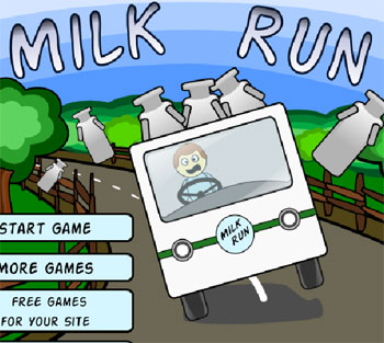 milk run car game 2012 flash free online play free games online