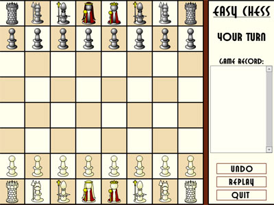 easy chess game flash free online