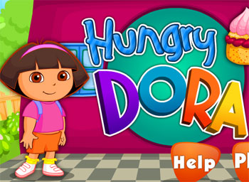 game cooking hungry dora online