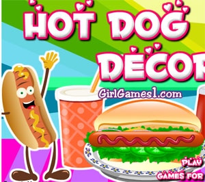 game hot dog decor online