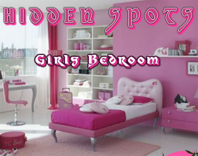 girls bedroom hidden spots game 2012