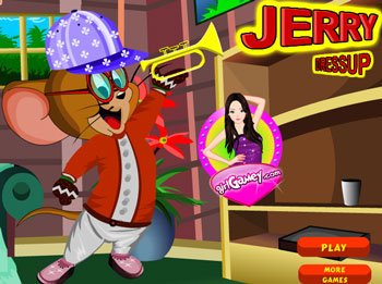 game jerry dress up 2012 flash free online