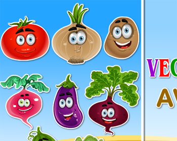 vegetables avatar game for girls 2012