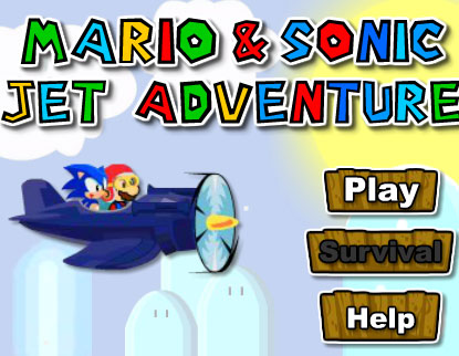 mario & sonic jet adventure free game online 2012