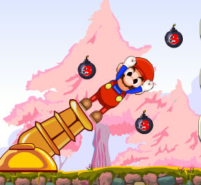 super mario kaboom 2 free game online 2012