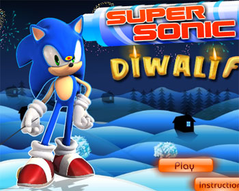 super sonic diwali fun free game online