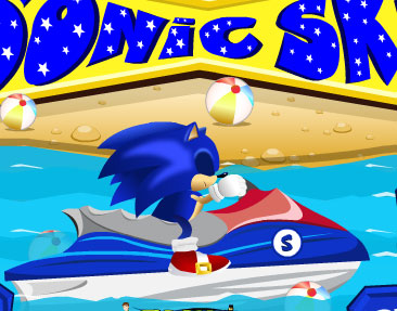 super sonic ski free game online 2012