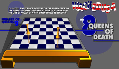 the 8 queens of death chess game flash free online