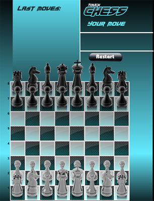 touch chess game flash free online