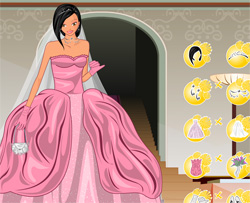 Wedding Dress Online on Princess Games Online