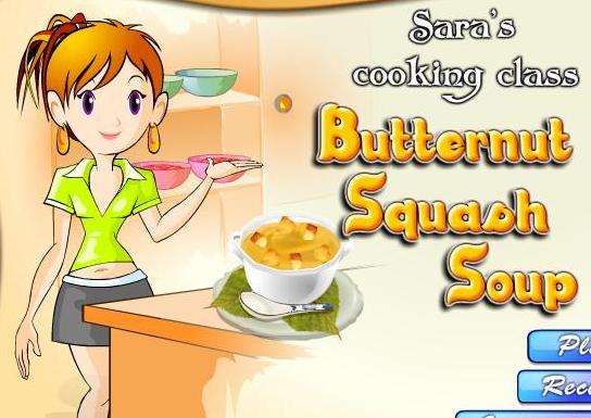 Menu Games Online Soup Recipe Game Online